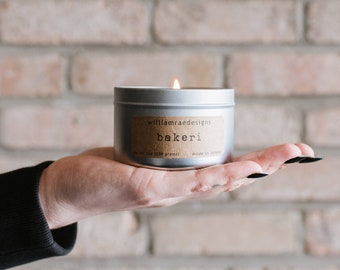 Bakeri Soy Candle | Scented Candle | Cupcake Candle | Coffee Candle | Teacher Gift | Hostess Gift | Gift for Her |