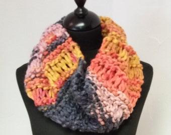 Super Soft Hand Knitted Cowl / Neckwarmer