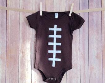 Baby Football Onesie, Baby Football Outfit, Newborn Football Onsie, Boys Football Clothing