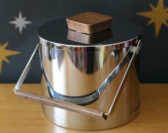 Atapco Ice Bucket / Danish Modern Style / Vintage / Made in USA