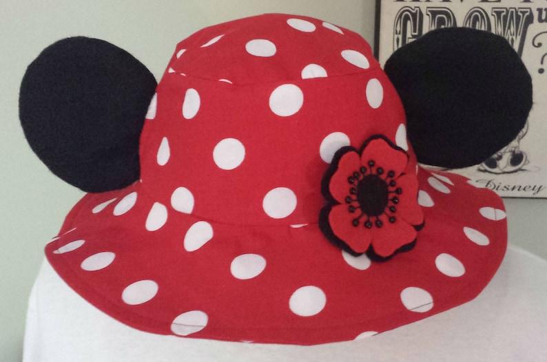 2518e92bb3d Mickey Bucket Hat   Minnie Sun Hat   Adult Disney Sun Hat