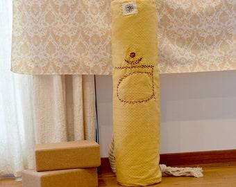 Sacral Chakra Yoga Bag Hand-stitched Handmade bag