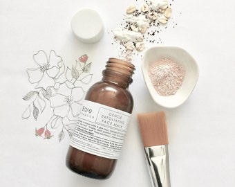 GENTLE FACE MASK | Australian Pink Clay | Exfoliating | Clear & Tone | Helps reduce pore size | Vegan |