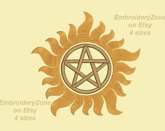 Supernatural tattoo   Etsy