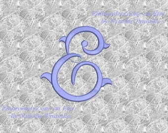 vintage monogram e embroidery design initial fancy letter e embroidery designs not alphabet 4 sizes hoop 4x4