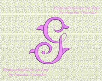 vintage monogram g embroidery design initial fancy letter g embroidery designs not alphabet 4 sizes hoop 4x4