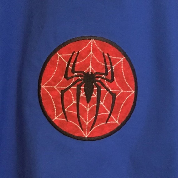 Spider Logo Of Spiderman Machine Embroidery Design