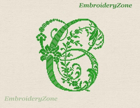"""ABC Designs Old Fashioned Charm Machine Embroidery Font in Cross Stitch 4/""""x4/"""""""
