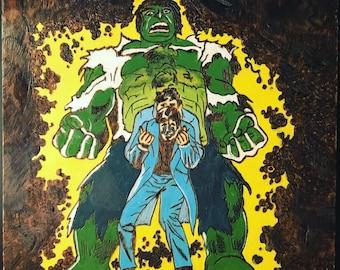 Hulk Plaque