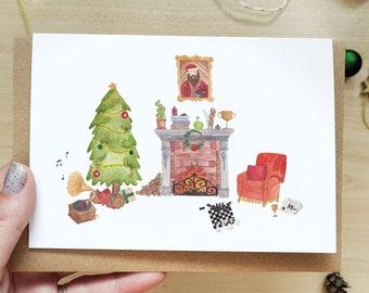 Cosy Christmas Fireplace - Sweet Magical Christmas, Winter Christmas Vibes