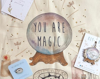 Magical Bundle Gift - Ready to Gift Magical/Divination/Mystical/Witchy Present - Bundle Deal Gift