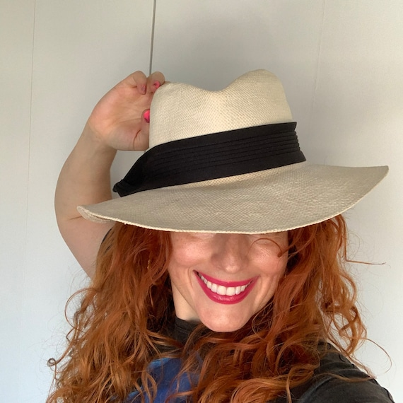 Vintage 70s Does 40s Women's Smooth Criminal Whit… - image 1