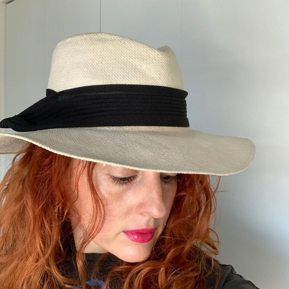 Vintage 70s Does 40s Women's Smooth Criminal Whit… - image 8