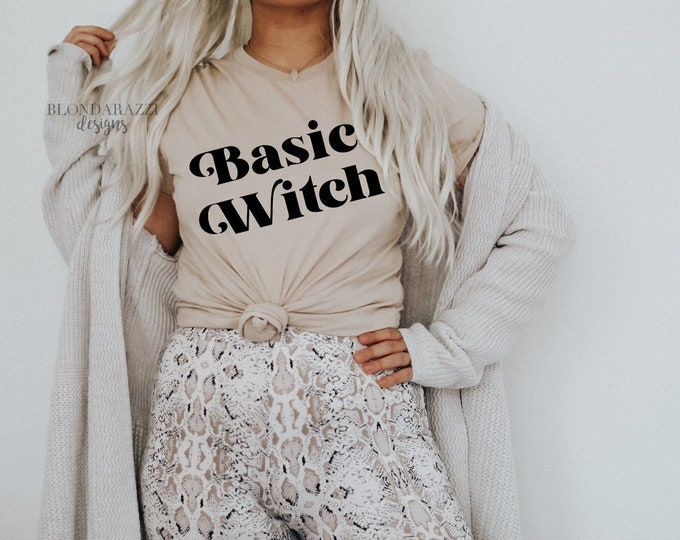 Basic Witch Halloween Graphic Tee