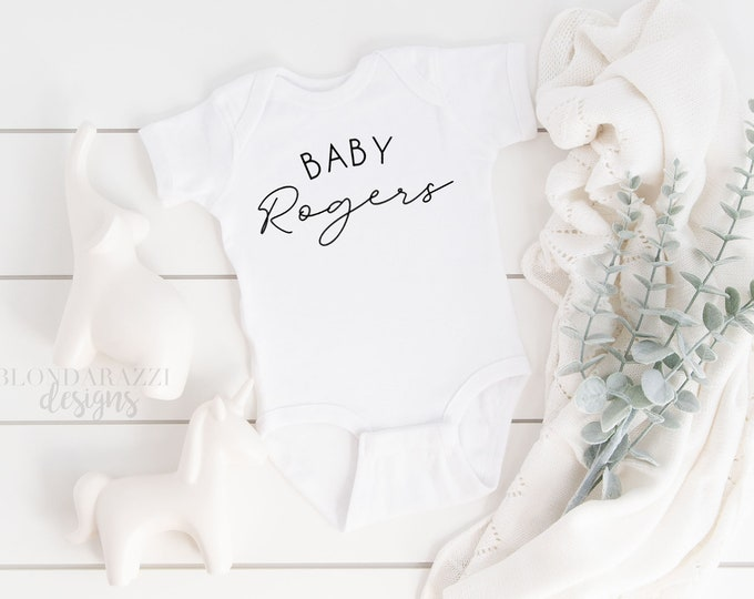 Personalized Baby Outfit  for boy girl unisex gender neutral - baby shower gift pregnancy announcement gender reveal coming home newborn
