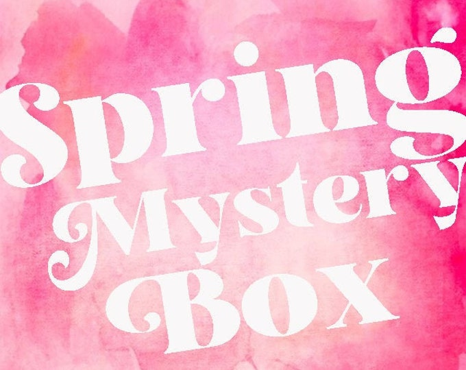 Spring Mystery Box - Monogrammed Items and Seasonal Goodies