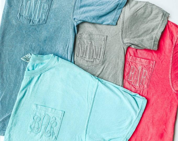 Monogram Pocket Tshirt