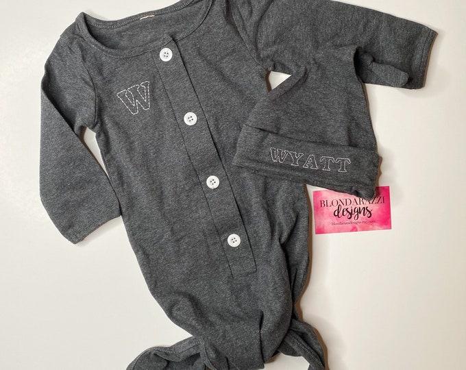 Newborn Baby Boy or Girl Coming Home Sleep Sack Outfit