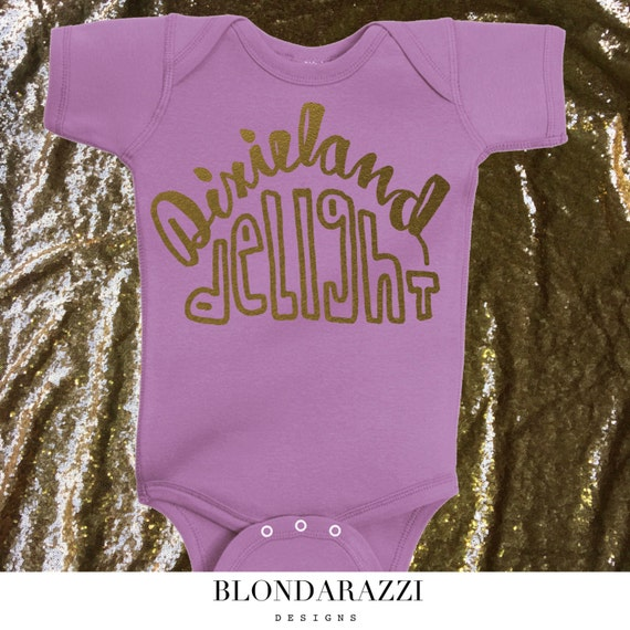 d8e0ebece1 SOUTHERN country baby girl onesie outfit dixieland delight