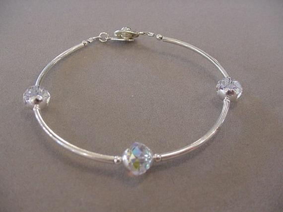 bracelet swarovski tube