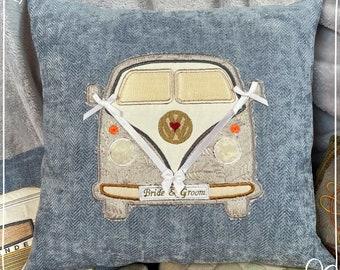 Wedding  Camper Van Cushion
