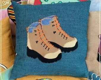 Hiking Boots Cushion