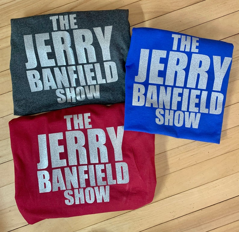 The Jerry Banfield Show Official Merch / T-Shirts image 0