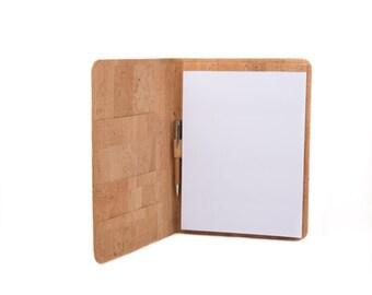 Padfolio or writing case, Cork Padfolio, Padfolio for executive, Portfolio, Padfolio Case