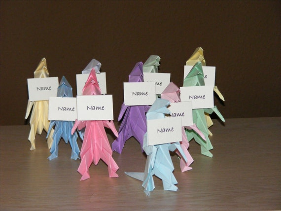 Dinosaur Party Origami Dino Party Set Of 10 Dinosaur Etsy