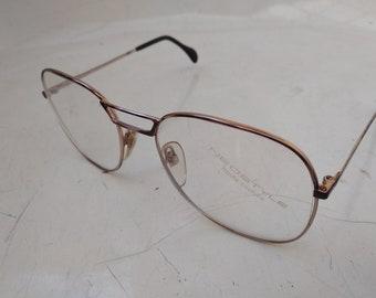 c8f4ac3f641 Vintage 90s NEOSTYLE Academic 140 Aviator Eye Glasses Sunglasses Frame  Germany