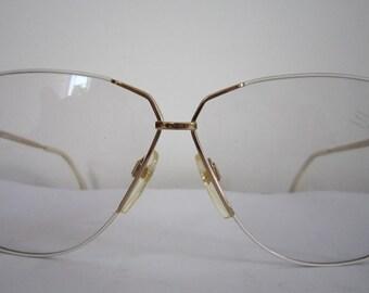 05d2763745 Vintage 80s Silhouette Mod 6066 Eyeglasses Sunglasses Frame