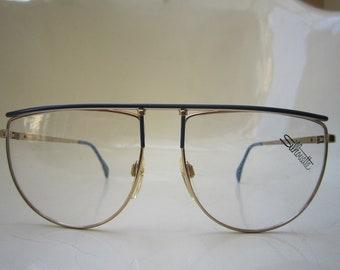 08e7e4aada Vintage 80s Silhouette Mod 6954 Eyeglasses Sunglasses Frame Austria