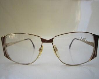 0e2f6c0f20 Vintage 80s Silhouette Mod 6110 Eye Glasses Frame Austria