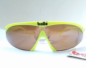 561c195716fd Vintage 80s Bolle Microedge Sunglasses
