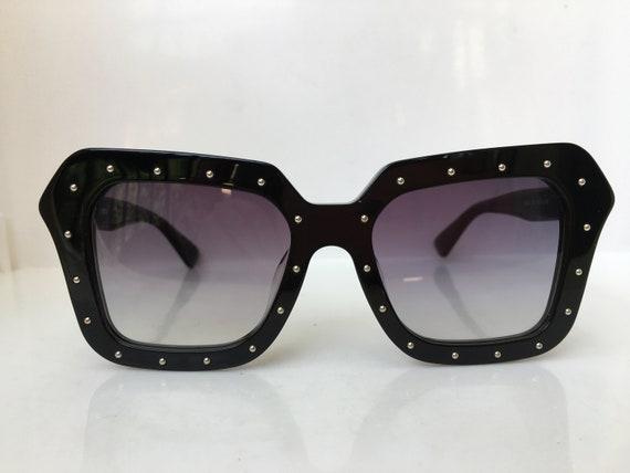 Handmade Black Acetate Oversized  Sunglasses Frame