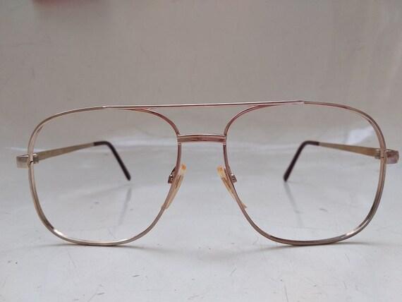 FUTURA Vintage Man Aviator Eyeglass Frame