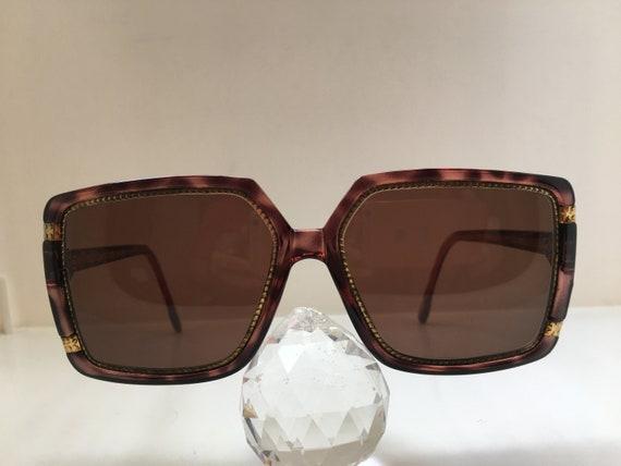 Vintage 80s TED LAPIDUS TL1510 Woman Big Eyewear S