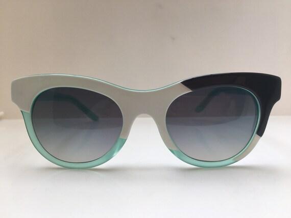 Vintage Acetate Woman Sunglasses Frame Asymmetric