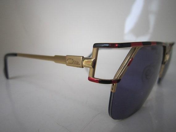 Vintage 80s CAZAL Mod 248  Gold Sunglasses German… - image 2