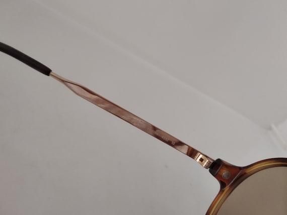 Vintage 80s Playboy 4592 Man Aviator Sunglasses A… - image 7