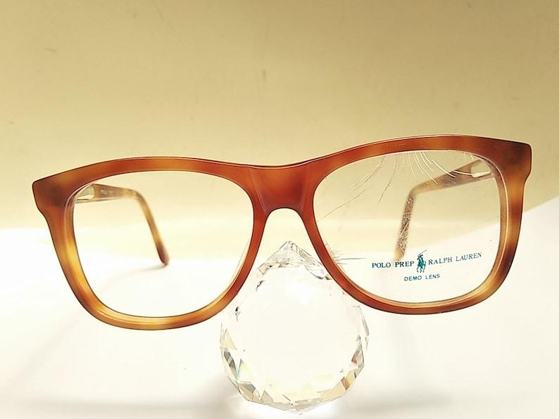 Vintage 80s POLO Ralph Lauren Prep 3 Tortoise Color Eyeglass Frame NOS