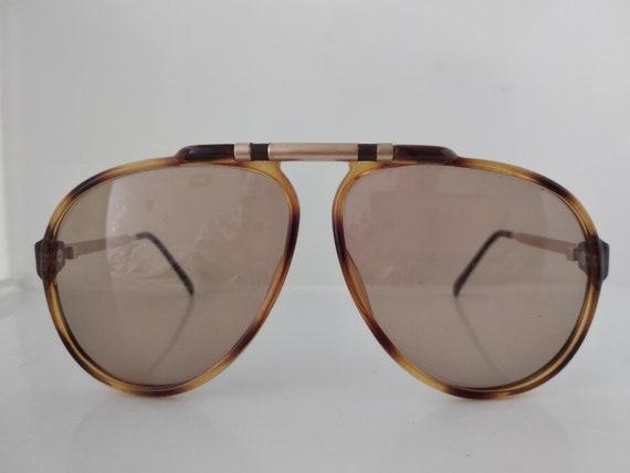 Vintage 80s Playboy 4592 Man Aviator Sunglasses Au