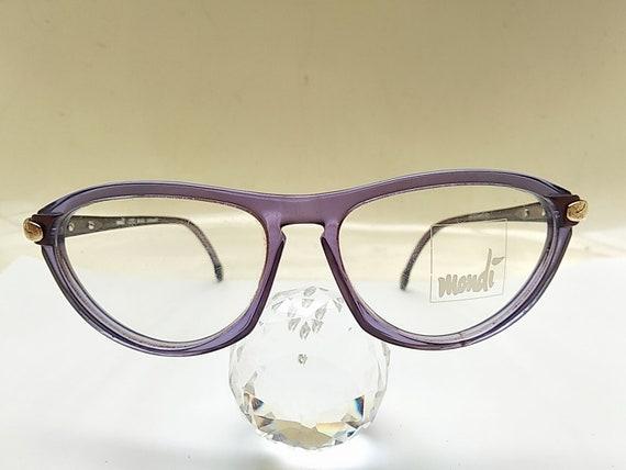 Vintage 80s Mondi Woman Eyeglasses Frame Germany