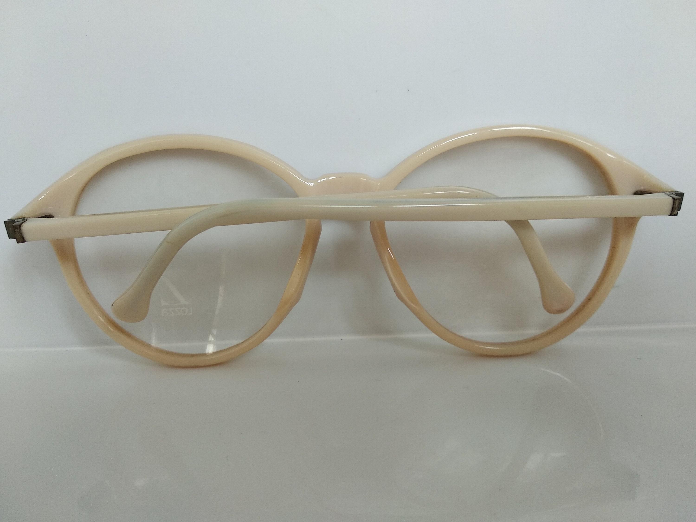 Vintage 80s LOZZA Marfil P-3 Ojo de cerradura Eyeglass