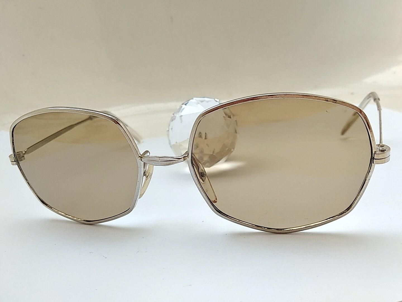 Vintage 70s hombre gafas de sol marco Taiwan gafas lentes