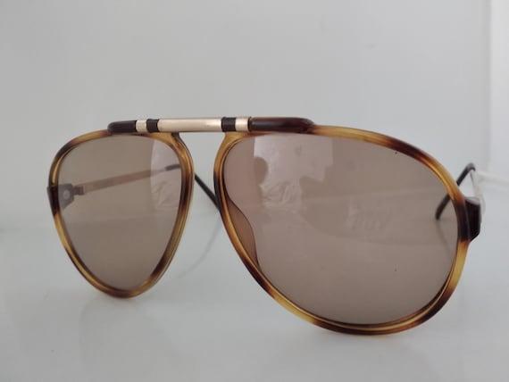 Vintage 80s Playboy 4592 Man Aviator Sunglasses A… - image 3