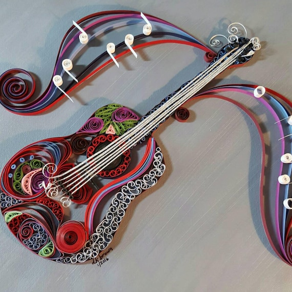 card making Collection of 10 Violin pictures for framing scrapbooking etc