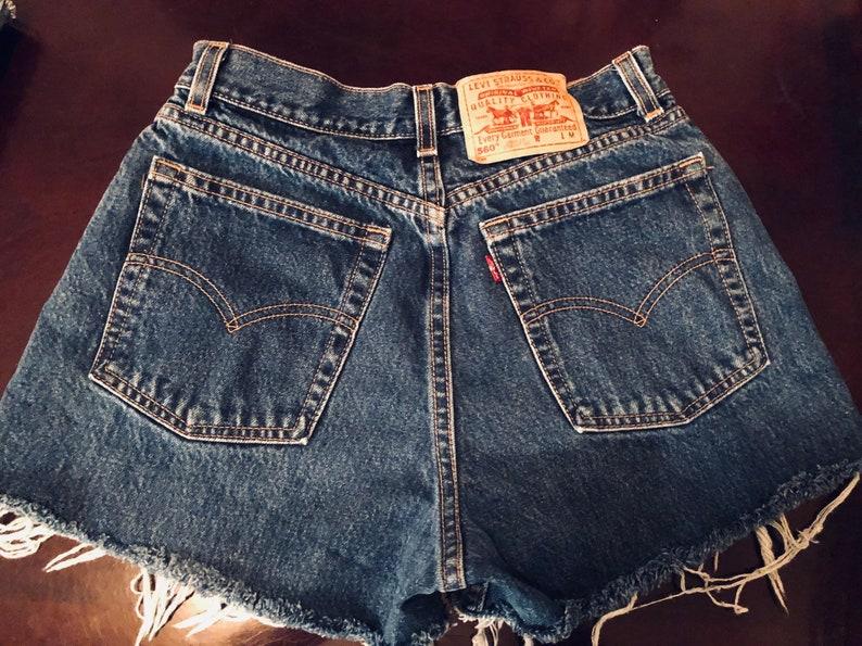 75cf0caf25 Vintage Levis shorts Vintage Levis 560 brand high waisted | Etsy