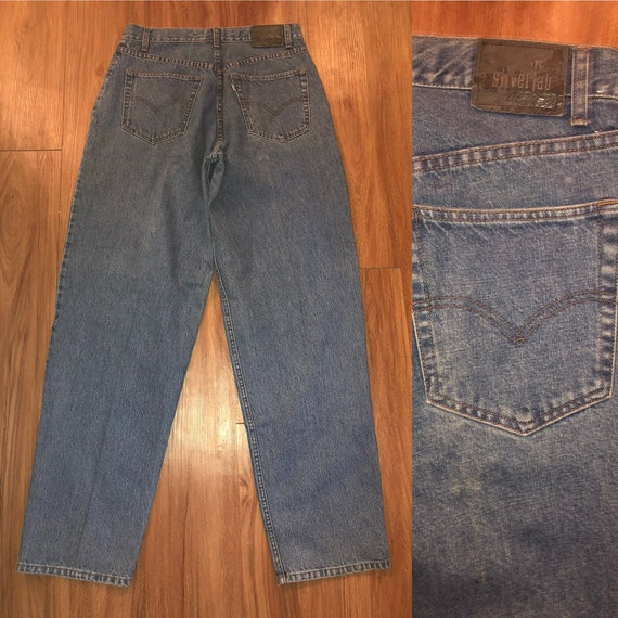 Vintage 90s Levis jeans silvertab high waist baggy