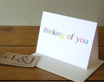 Miss You Card, Thinking Of You Card, Sympathy Card, Just Because Card, I Miss You Card, Grieving Card, Long Distance, Thinking Of You Card